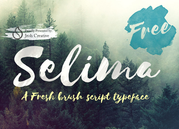 Best Free Script Fonts for Logo Design & Logotypes (20 Fonts) - 2