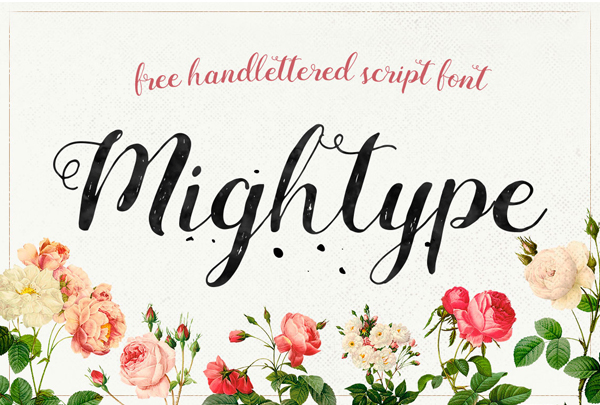 Best Free Script Fonts for Logo Design & Logotypes (20 Fonts) - 8