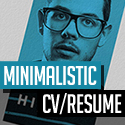 Post thumbnail of Free Minimalistic CV/Resume Templates with Cover Letter Template
