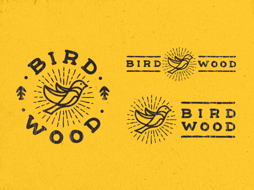 BirdWood Logo Design by Typemate