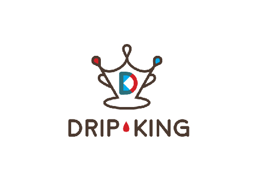 Drip King Coffee Logo by Tyler Osegard