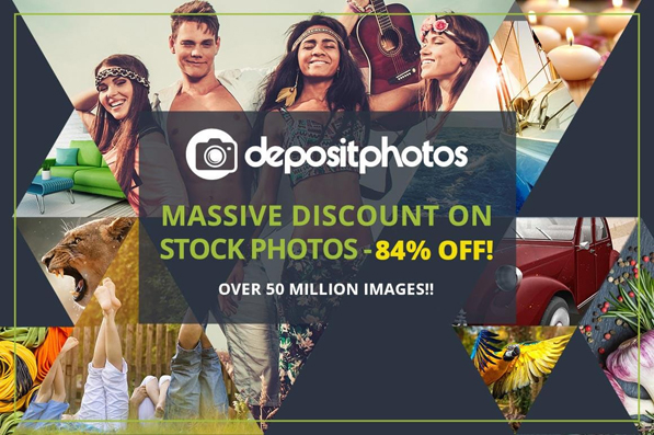 Massive Discounts on Stock Photos – 84% off