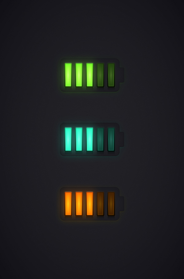 Create a Battery Meter Icon in Adobe Illustrator
