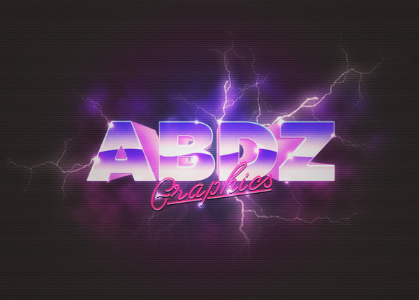 How to Create Classic 80s Style Text Effect in Illustrator