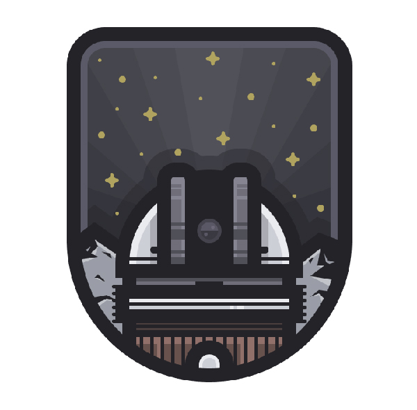 How to Create a Space Observatory Badge in Adobe Illustrator