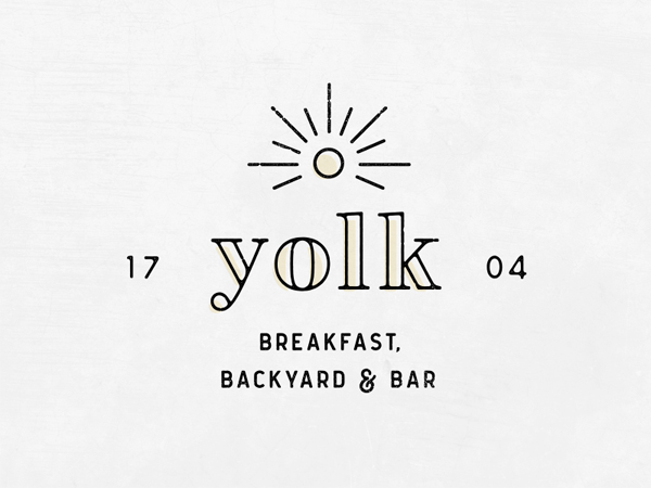 Yolk Logo - Upcoming Restaurant in Oklahoma City by Cara Bell