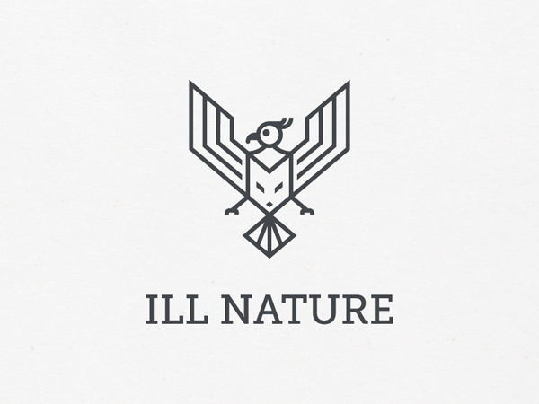 Ill Nature logo by Stefan Kitanovic