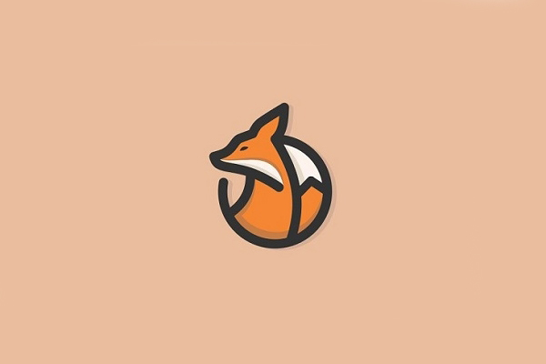 Fox Line Art Logo Concept by Stefan Ivankovic