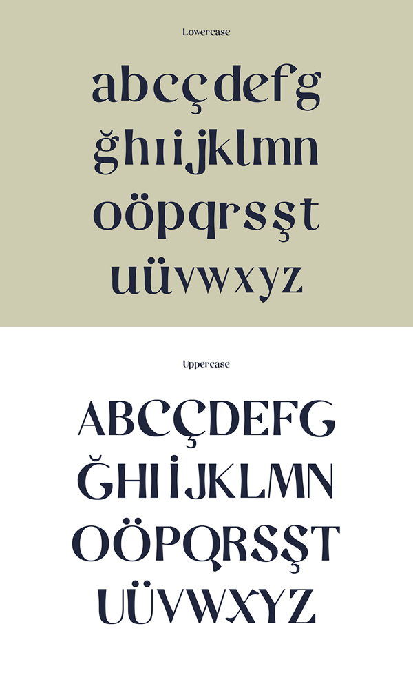 Casual fonts and letters