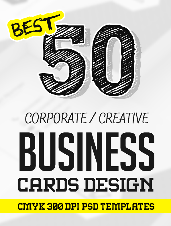 Business Cards Design: 50+ Amazing Examples to Inspire You