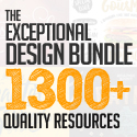 Post thumbnail of The Exceptional Design Bundle (1300+ Quality Resources)