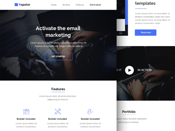 Free PSD HTML Email Template