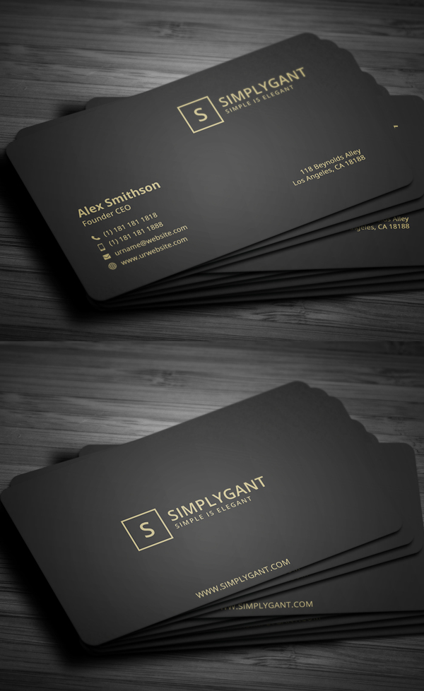 Creative Business Card PSD Templates 26 New Design