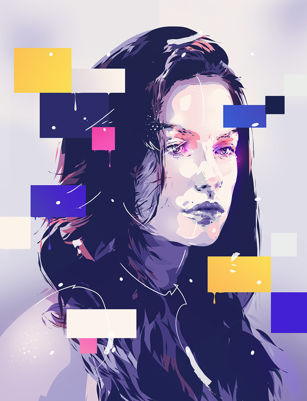 How to Create Illustration Portrait in Illustrator