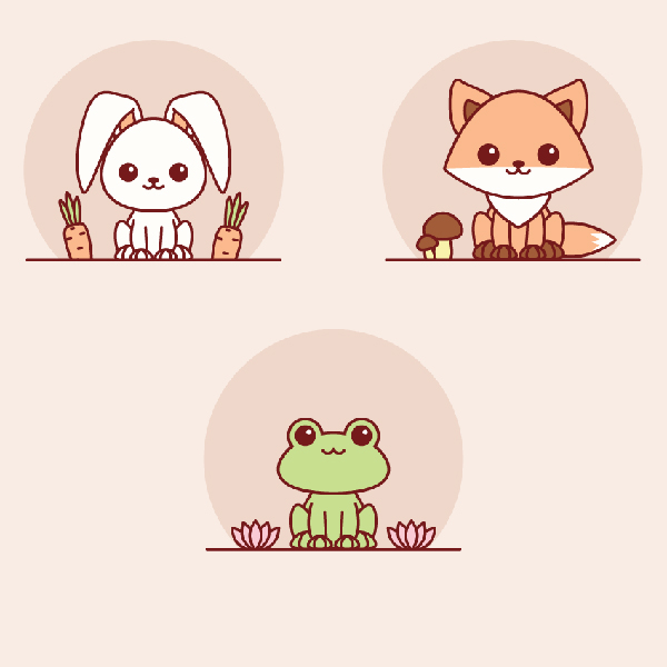 How to Create Easy Kawaii Animals in Adobe Illustrator