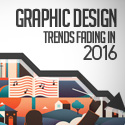 Post thumbnail of Graphic Design Trends Fading in 2016