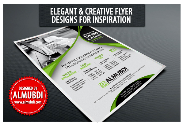 elegant amp creative flyer designs for inspiration