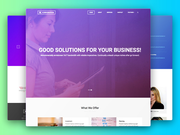 Free Bootstrap Business HTML5 Template