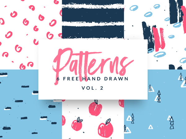 Free Hand Drawn Patterns