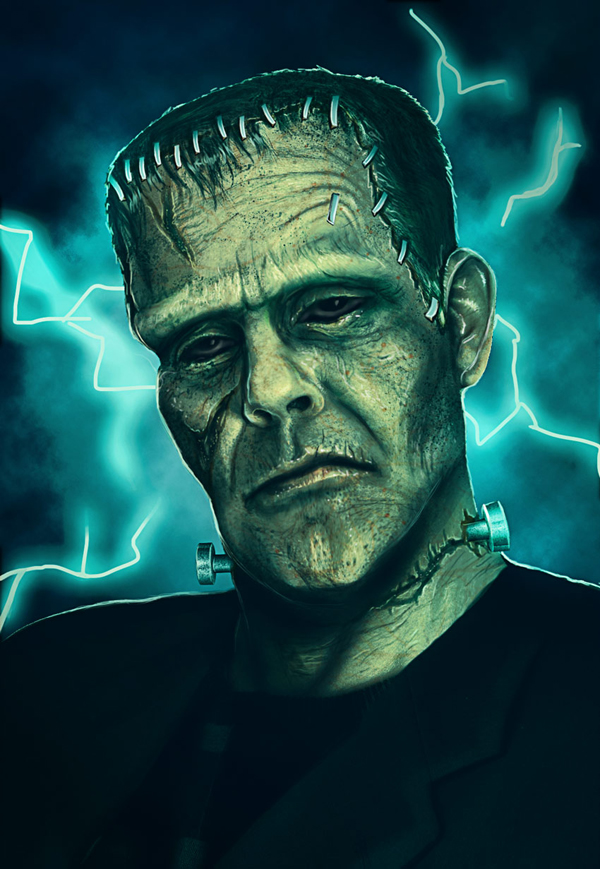 How to Create a Frankenstein's Monster Photo Manipulation in Adobe Photoshop