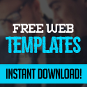 Post Thumbnail of Web Templates - 25 Professional Free PSD Templates