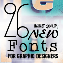 Post thumbnail of 26 New Fonts for Graphic Designers (Premium Collection)