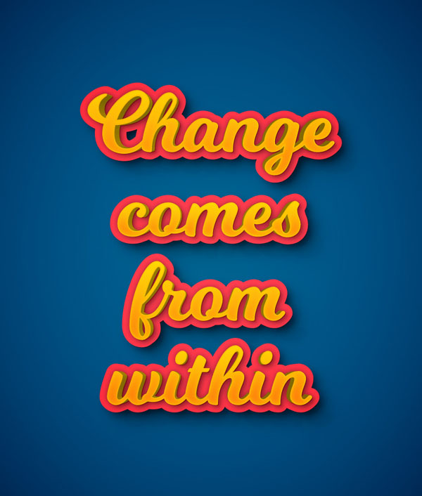 How to Create a Colorful 3D Text Effect in Adobe Illustrator