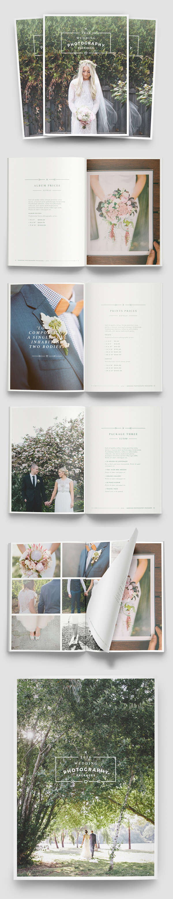 Multipurpose Photography Brochure Template