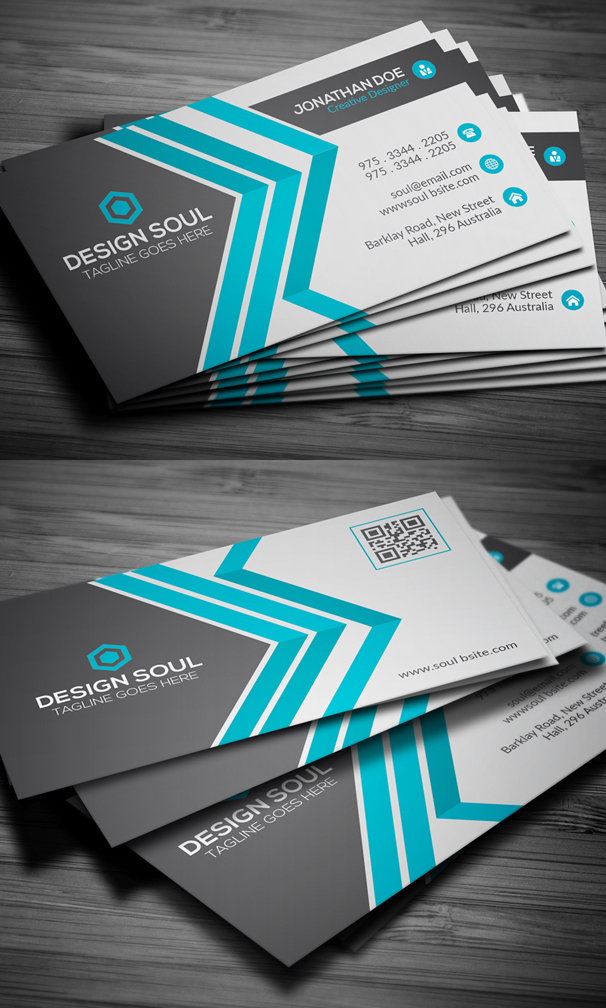 25+ Modern Business Cards Design For Inspiration