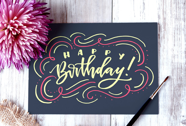 Create a Hand Lettered Birthday Card in Illustrator