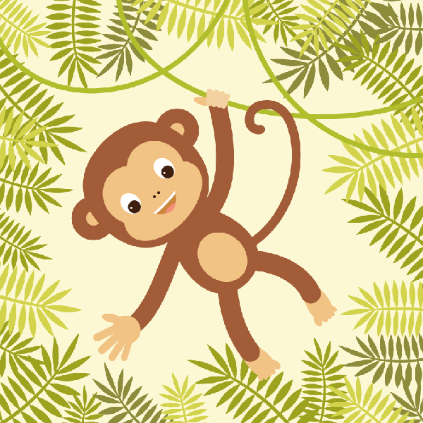 How to Create a Hanging Monkey Illustration in Adobe Illustrator