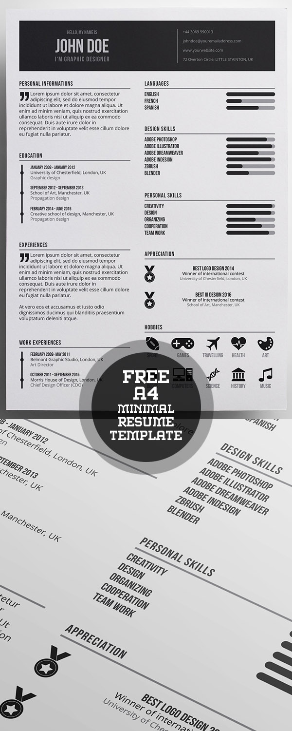 Best images about Template Cv Infografica Gratis