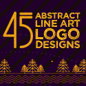 45 Best Line Art Logo Designs for Inspiration