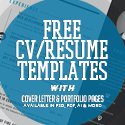 Post thumbnail of 20 Free CV / Resume Templates 2017 with Cover Letter & Portfolio Pages