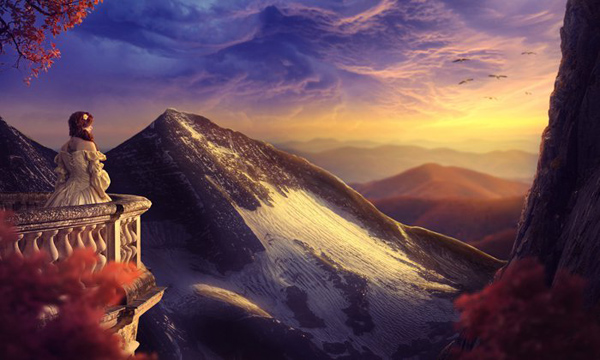 Create a Sunset Landscape Photo Manipulation in Photoshop