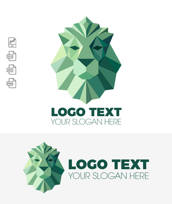 Free Royal Lion Logo Template