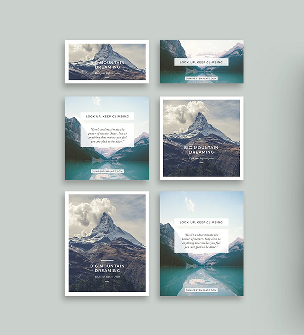 Juniper Social Media Pack Templates