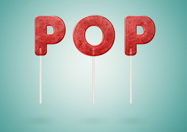 How to Create a Lollipop Inspired Text Effect in Adobe Photoshop