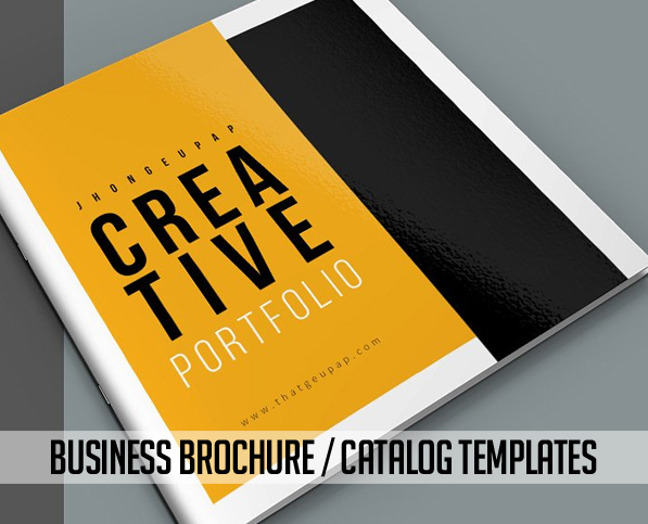 New brochure templates catalog design design graphic for Graphic design brochure templates