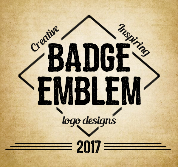 34 Inspiring Badge & Emblem Logo Designs