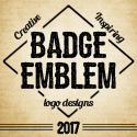 Post Thumbnail of 34 Inspiring Badge & Emblem Logo Designs