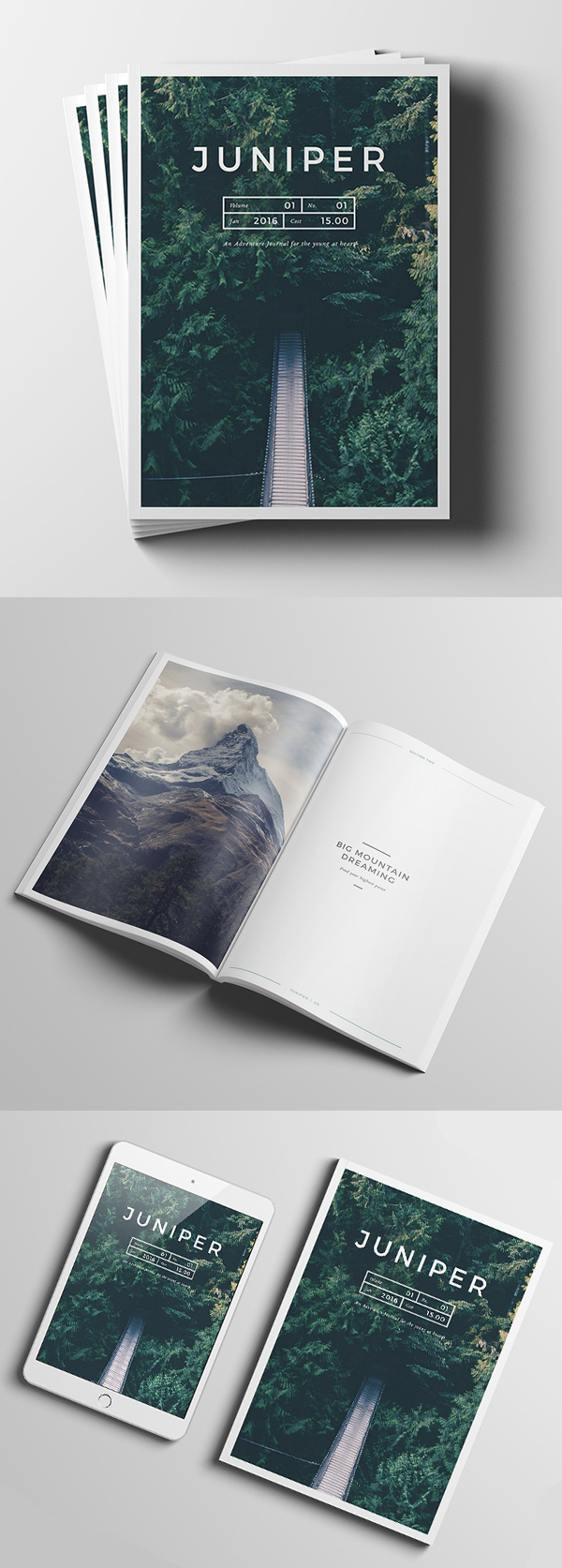 Free High Quality Magazine MockUps