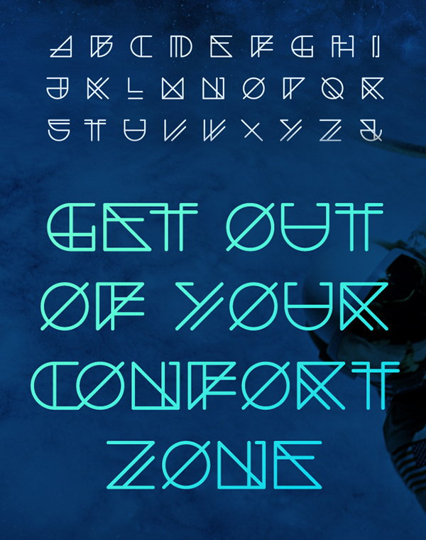Spacer Free Font & Letters