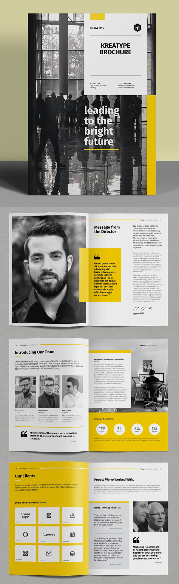 Corporate Brochure Business Template