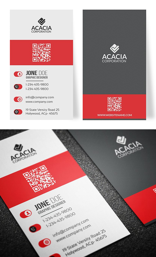 Vertical business card designs zrom cheaphphosting Gallery