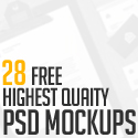 Post thumbnail of 28 Free Highest Quality PSD Mockup Templates