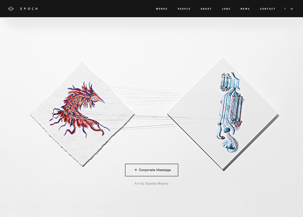 27 Web and Interactive Websites for Inspiration - 6