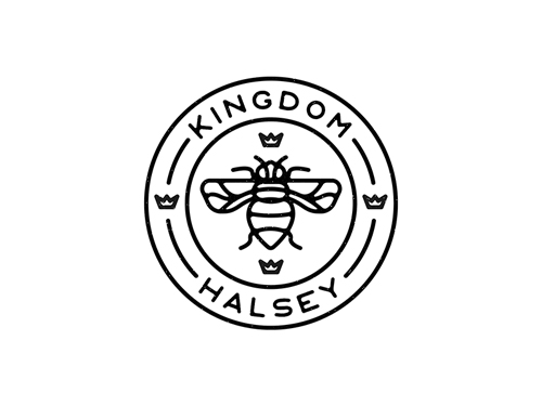 Badge - Halsey Line Art Logo By Florence Pernet