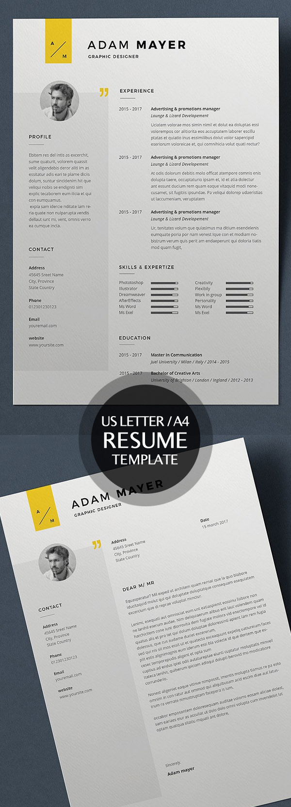 best minimal resume templates design graphic design junction 50 best minimal resume templates 3