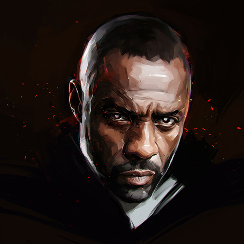 Idris Elba Portrait